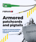 Armored patchcords and pigtails!