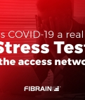 "Is COVID-19 a real ""Stress Test"" for the access network?"