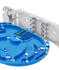 New mounting system of the oval splice trays in FIBRAIN products!